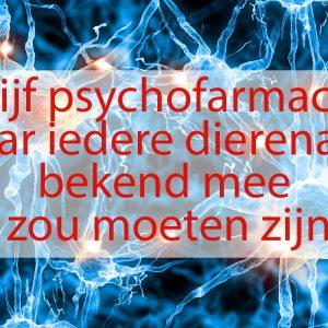 psychofarmaca dierenarts